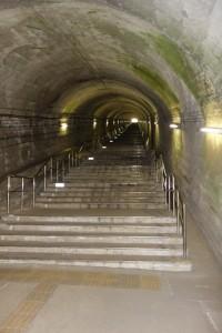 土合駅の486段の階段